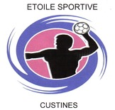 ES Custines HANDBALL Logo